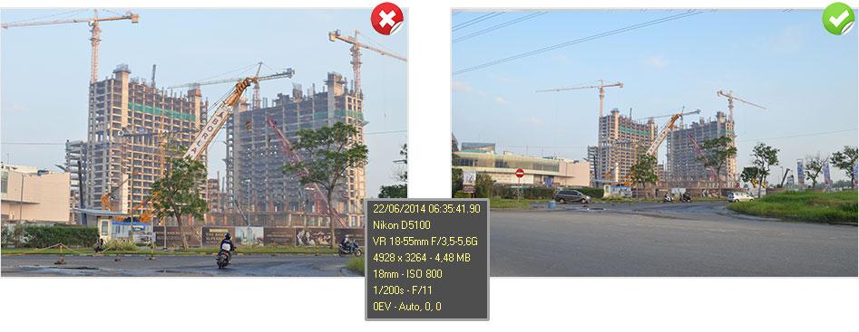 Lensa Wide Nikon 045x Extension