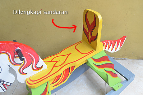 Mainan Kuda Kayu Anak Halus Dan Kuat Surabaya