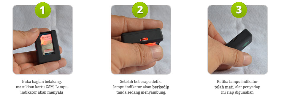Cara menggunakan alat penyadap suara jarak jauh kartu GSM